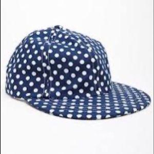 NWOT American Apparel polka dot cap